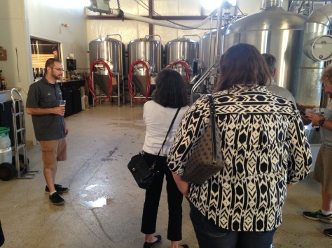 Brewery Tour 2015