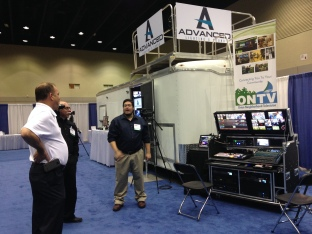 Advanced Lighting & Sound booth